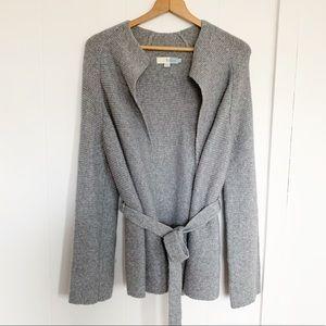 Boden Fiona open tie knit cardigan wool alpaca 8